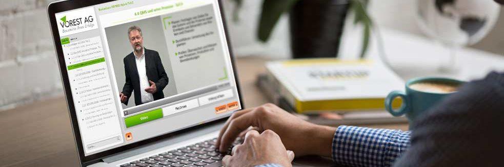 E-Learning-Schulung Arbeitsschutzmanagement
