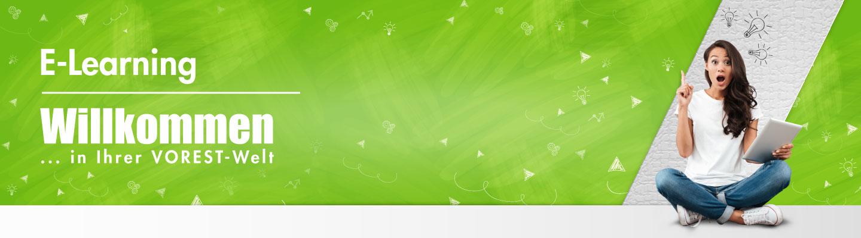 Banner Arbeitsschutzmanagement E-Learning der VOREST AG