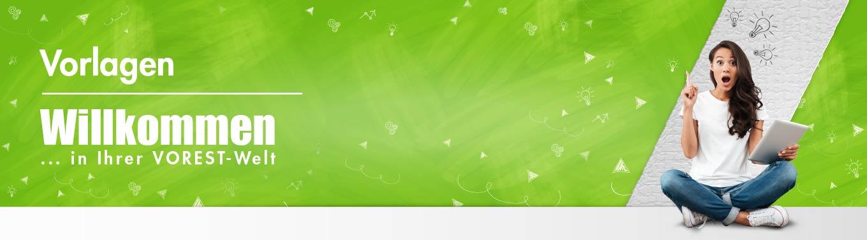 Banner Arbeitsschutzmanagement Vorlagenseite der VOREST AG
